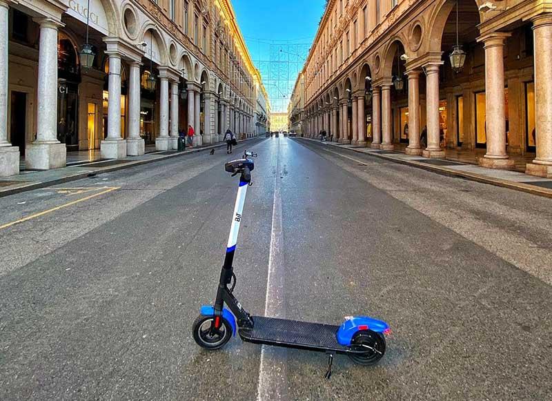 Monopattino Bit Mobility a Torino